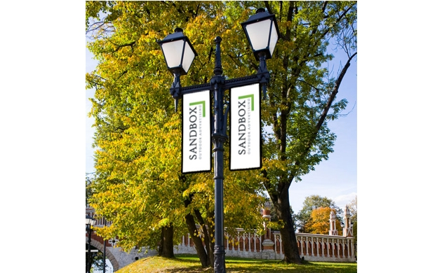 Pole Banners - Awnings New York | New York City Signs ...